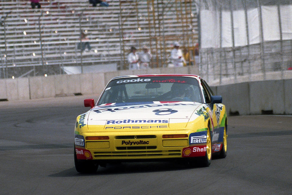 THE ROTHMANS PORSCHE TURBO CUP WAS THE RADDEST RACE SERIES