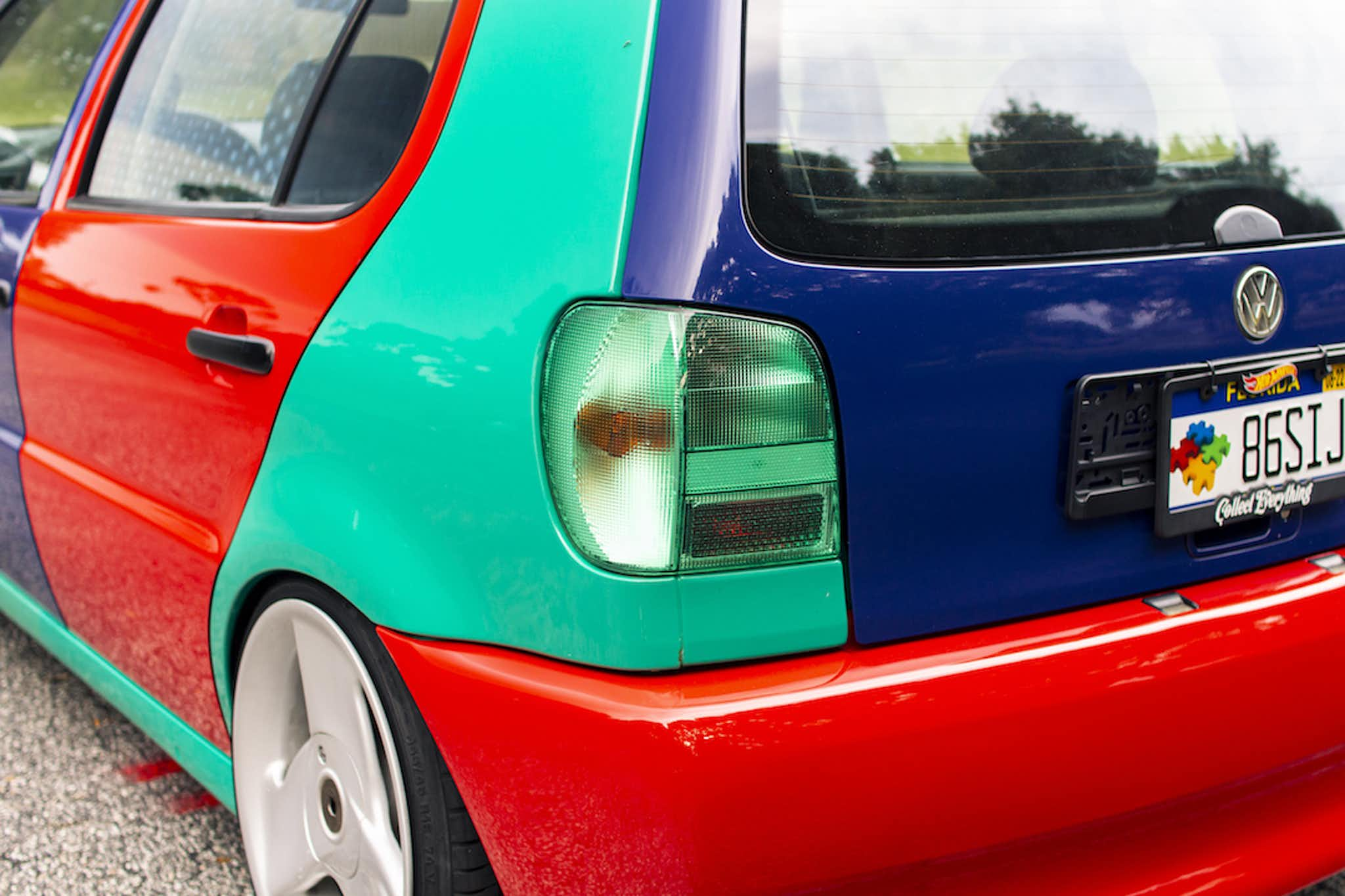 GERMANS CAN'T WRAP - VW POLO HARLEQUIN